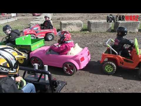 Kids Power Wheels Class At Brigden Fair Demolition Derby 2018