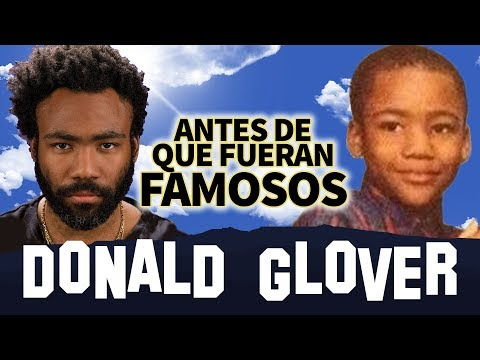 DONALD GLOVER | Antes De Que Fueran Famosos | THIS IS AMERICA