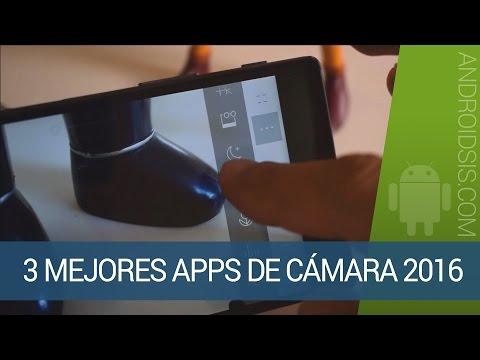 Las 3 mejores apps de cámara 2016