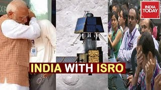 India  Stands With ISRO As Lander Vikram Loses Contact | Here Is A Timeline Of What Happened