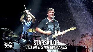 [4K] Starsailor - Tell Me It's Not Over / Kids (MGMT cover) @ Pentaport Rock Festival 2018