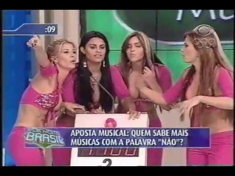 Banana Split X Axé Blond no Boa Noite Brasil 3 (2004)