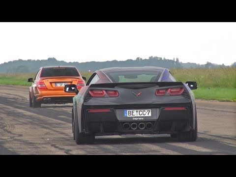 Chevrolet Corvette C7 with LOUD Capristo Exhaust!