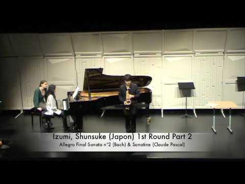 Izumi, Shunsuke Japon 1st Round Part 2