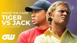 Tiger Woods VS Jack Nicklaus: Who Is The Greatest?   Inside The Game   Golfing World