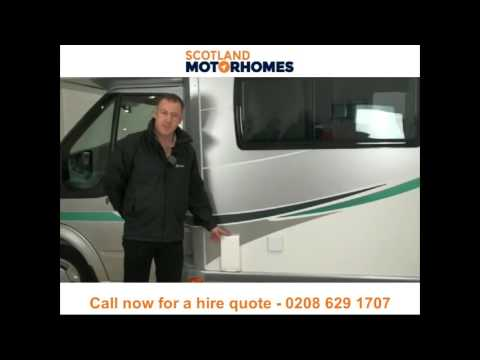 Motorhome hire and campervan rental Scotland - Call 0131 502 1980