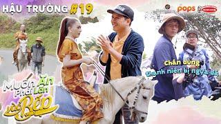 Hậu Trường #19 | Chiều Lâm Khánh Chi như ekip Trường Giang, mặc NGỰA ĐÁ để nàng cưỡi bạch mã |MAPLVB