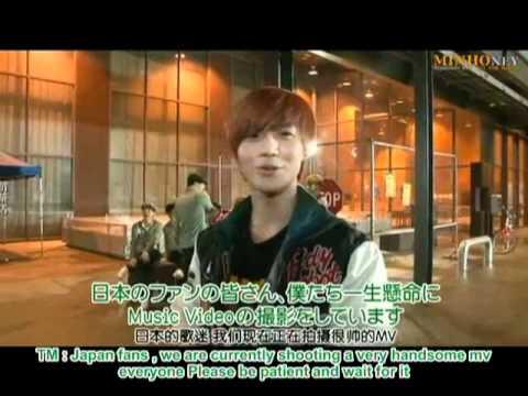 [ENG SUB] SHINee's Replay Jacket and MV Shooting Sketch(hardsubbed)