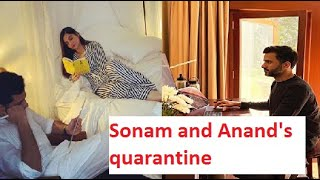 'Snapshots of quarantine': Sonam Kapoor and Anand Ahuja gi..