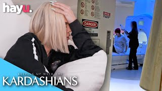 Khloé Kardashian Suffers From Migraines Due To Stress | Season 16 | Keeping Up With The Kardashians