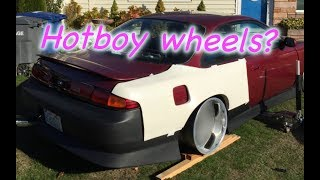GOT WHEELS FOR THE 240SX