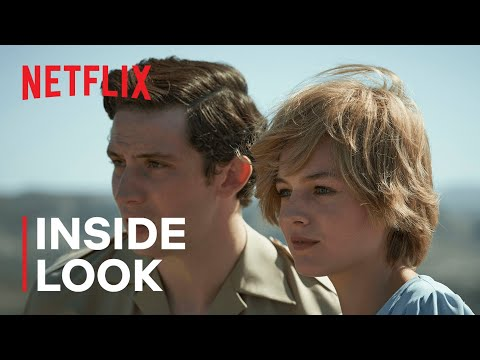 20 Questions with Emma Corrin & Josh O'Connor of The Crown | Netflix