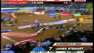 2009 AMA Supercross Rd 12 St  Louis