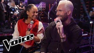 Alicia Keys & Adam Levine Talk The New Block Button On The Voice