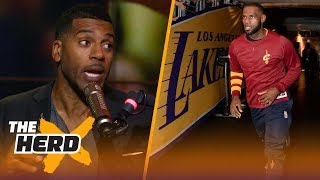 Jim Jackson on why LeBron fits best on Lakers, Talks Paul George or Kawhi to 76ers | NBA | THE HERD