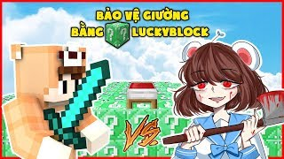 Minecraft : EMERALD LUCKYBLOCK BEDWARS, DANGO TEAM ĐẠI CHIẾN SIMMY YANDERE   MK Gaming
