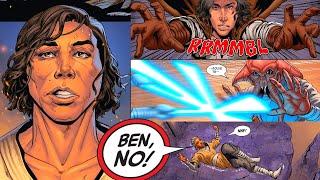 KYLO REN KILLS HIS FIRST JEDI!(CANON) - Star Wars Comics Explained