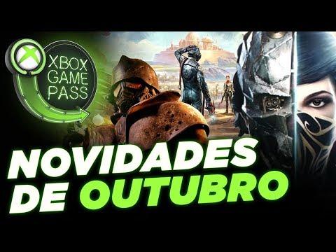 Novidade de Outubro no Xbox Game Pass