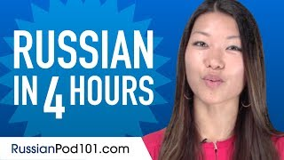Learn Russian in 4 Hours - ALL the Russian Basics You Need