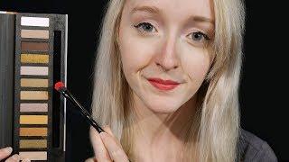 ASMR Relaxing Makeup Artist Role Play