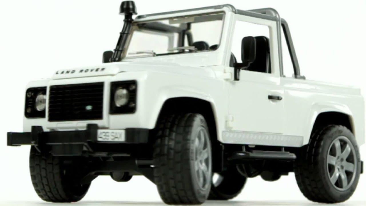 land rover defender pick up bruder 02591 muffin songs. Black Bedroom Furniture Sets. Home Design Ideas
