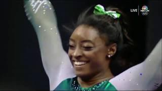 Simone Biles AA Day 1 2019 US Gymnastics Championships