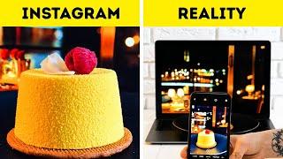 GENIUS PHOTO TRICKS FOR YOUR INSTAGRAM || Easy Ways to Make Food Photos