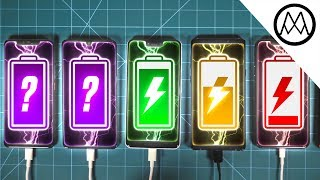 Huawei Mate 20 Pro vs Pixel 3 XL vs Note 9 vs iPhone XS Max Charging Speed Test!
