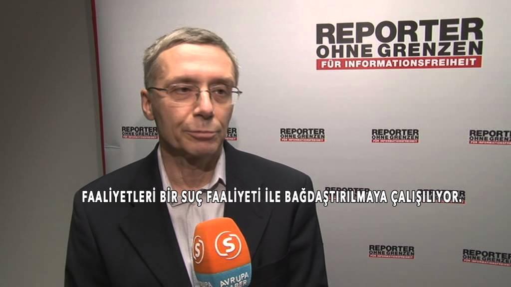 """Sınır Tanımayan Gazeteciler: """"Basın özgürlüğü olmayan yerde özgürlük yoktur!"""""""