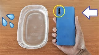 Galaxy A50 Water Test - Is It Water Resistant?