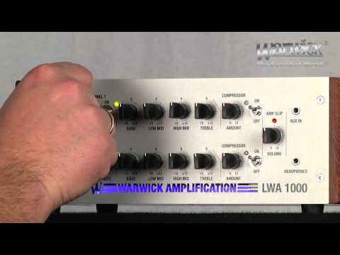 Warwick Amplification - LWA1000 - with Andy Irvine