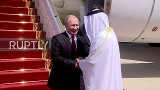 UAE: Putin arrives in Abu Dhabi on first visit since 2007
