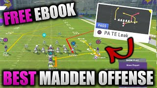 One Play Touchdown - NO ADJUSTMENTS   Full Guide to Best Madden Offense   Raiders Free Ebook Pt. 1
