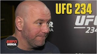 Dana White talks UFC 234, McGregor vs. Cerrone, more | ESPN MMA