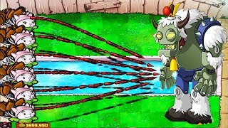 Plants vs Zombies Hack -  1 Cattail  vs Dr. Zomboss