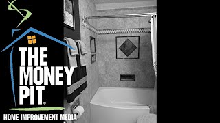 Easy Ways to Stop Tub & Shower Leaks, and More   The Money Pit Podcast