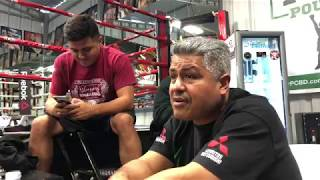 Robert Garcia Reflecting on Errol Spence vs Mikey Garcia Fight