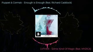 LVTHER - Some Kind Of Magic(f. MYZICA) / VS \ Puppet & Cormak - Enough Is Enough(f. Richard Caddock)
