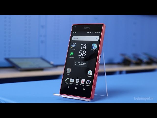 Belsimpel.nl-productvideo voor de Sony Xperia Z5 Compact