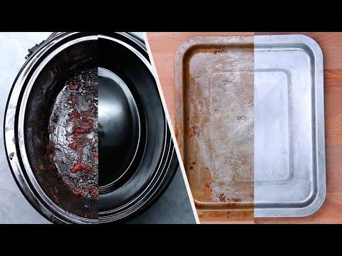 Како да ги исчистите загорените тави и стариот кујнски прибор?