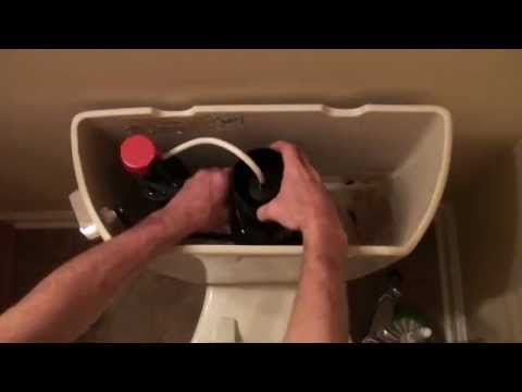 How To Replace The Seal On A Canister Style Flush Valve