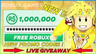 HOW TO GET FREE ROBUX ON ROBLOX - SECRET ROBLOX PROMO CODES 2020 *LIVE*