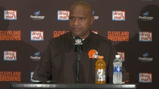 Hue Jackson Postgame Press Conference 10/22