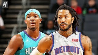 Detroit Pistons vs Charlotte Hornets - Full Game Highlights | November 15, 2019 | 2019-20 NBA Season