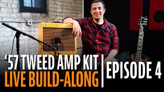 Watch the Trade Secrets Video, How to Build a Tube Amp Kit Step-by-Step (Episode 4)