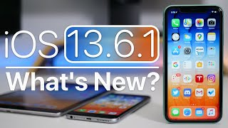 iOS 13.6.1 is Out! - What's New?