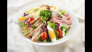 Món Ngon Mỗi Ngày - Salad ức gà áp chảo