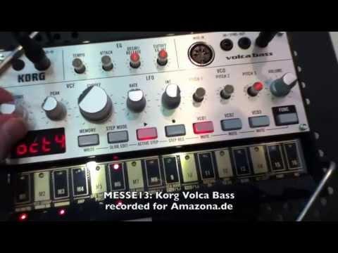 MESSE13: Korg Volca Bass (corrected Version 2)