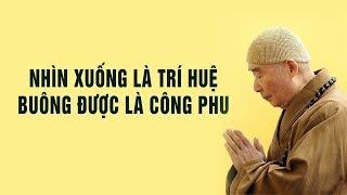 Nhìn Xuống Là Trí Huệ - Buông Được Là Công Phu | Phật Pháp Nhiệm Màu