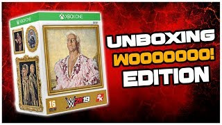 WWE HALL OF FAME RING! - UNBOXING WWE2K19 WOOO! EDITION!